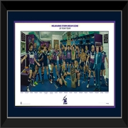 Melbourne Storm Team of 20 Years Framed Lithograph