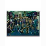 Limited Edition Medium Canvas Giclee Reproduction Melbourne Storm Team of 20 Year